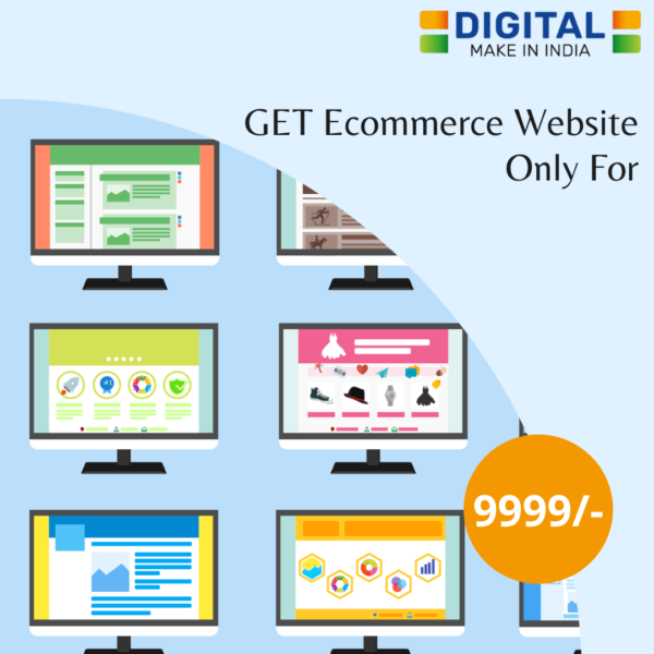 Ecommerce website at 9999